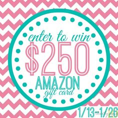 Enter to win a $250 Gift Card to Amazon.com!   #holidayrecovery #giveaway