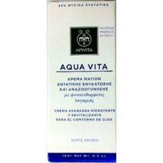 Apivita Aqua Vita κρέμα ματιών εντατικής ενυδάτωσης & αναζωογόνησης 15ml
