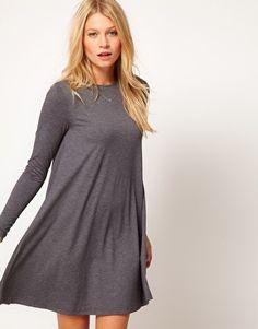 Enlarge ASOS Swing Dress With Long Sleeves