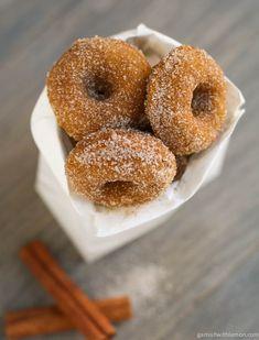 Pumpkin Spice Mini-Donuts | Garnish with Lemon