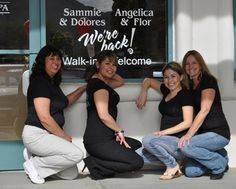 It's always nice to be pampered at La Quinta Salon & Day Spa.....Sammie, Delores, Angelica and Flor are the best.