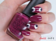 """""""Get Cherried Away"""" with Coca-Cola by OPI •#OPICokeStyle"""