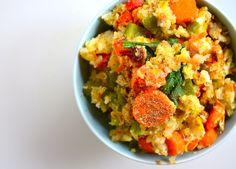 POWER MORNING MEAL: PALEO BREAKFAST STIR FRY RECIPE -PALEO DIET RECIPES #breakfast #diet #recipes #food paleoaholic.com