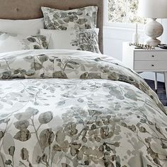 I love the Organic Woodland Duvet Cover + Shams on westelm.com