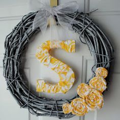 12 Ways to Make a Monogram Craft for Christmas from @AllFreeChristmasCrafts