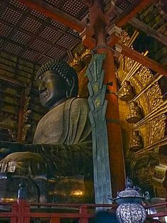 The Great Buddha at Nara (Tōdai-ji), 752 CE - The Nara period of the history of Japan covers the years from AD 710 to 794. Empress Gemmei established the capital of Heijō-kyō (present-day Nara). Except for 5 years (740–745), when the capital was briefly moved again, it remained the capital of Japanese civilization until Emperor Kammu established a new capital, Nagaoka-kyō, in 784 before moving to Heian-kyō, or Kyoto, a decade later in 794.