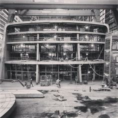 Behind the scenes view of Quantum of the Seas' construction.