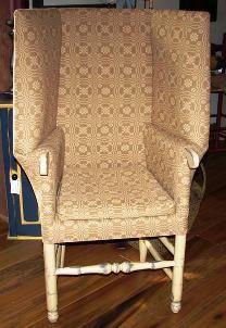 The Quartermaster General  Primitive make-do chair