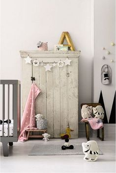 Chambre douce sweet room Chambre Bébé décoration Nursery garçon fille baby bedroom boys girls enfant diy home made fait maison #SalonCSF