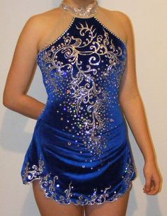 Competition Ice figure Skating Dress-£135