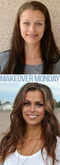 Makeover Monday!!!! Allure challenge #4