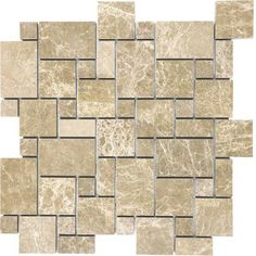 anatolia mosiac tiles from Home Depot. Stuff that dreams are made of.