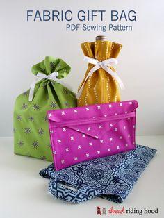 Fabric Gift Bag PDF