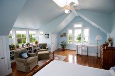 Attic Bedroom Suite - great guest bedroom area.