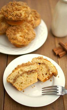 Coffee Cake Muffins: