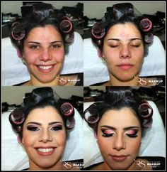 Makeup - Ludmila #beforeafter