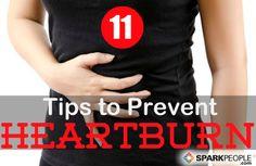 Dietary Tips for Digestive Distress   via @SparkPeople #diet #nutrition #health #wellness #heartburn