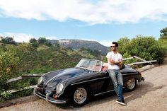 dream man, architectural digest, classic cars, vintage cars, adam levine, california, craftsman, bachelor pads, handsome man