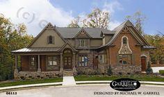 Bellevue House Plan # 06112, Front Elevation, Craftsman Style House Plans, Mountain Style House Plans