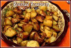 Sweet Tea and Cornbread: Roasted Rosemary Potatoes!