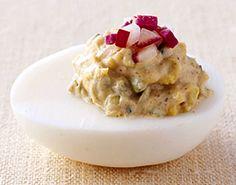 Garam Masala Deviled Eggs Recipe  | Epicurious.com