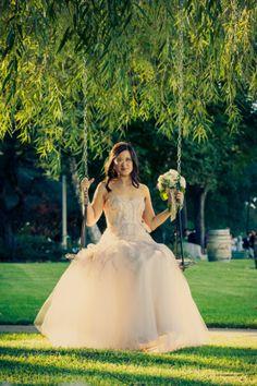 Rustic Chic Bride At Wedding