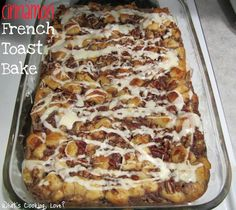Cinnamon French Toast Bake - Whats Cooking Love?
