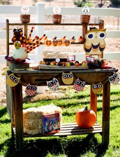Autumn Party For Kids-ideas for Allie's birthday
