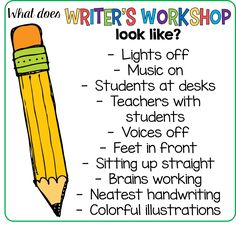 Starting Writer's Workshop in First Grade! What it looks like in my classroom.