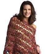 Crochet Pattern. Poncho. FREE