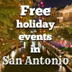 Free holiday events