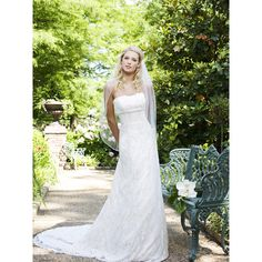 Romantic 2013 Spring Long Lace Bridal Wedding Dresses