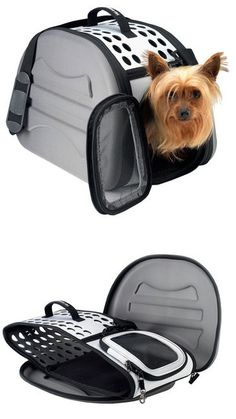 Collapsible Travel Pet Carrier - airline approved and built to fold completely flat $40