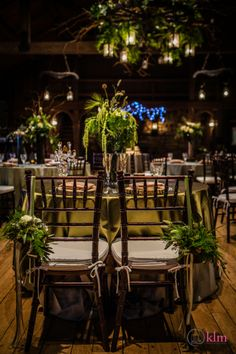 beautiful wedding reception - Abe Martin Lodge - Allison Peabody Hall - Brown County State Park - KLM Photography