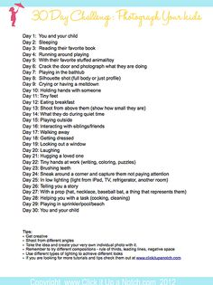 30 day challenge picture