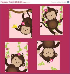 Monkey paintings