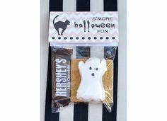 treat bags, bag topper, halloween fun, halloween treats, last minute, gift idea, printabl, halloween ideas, halloween parti