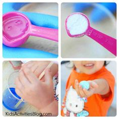 Did you know that your kids can even use household ingredients to make a DIY bouncy ball?  This is pretty cool!