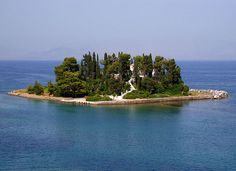 Greek Island on the Caspian Sea