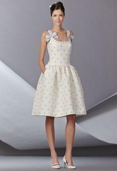 Carolina Herrera Spring 2014 regal full skirted dress