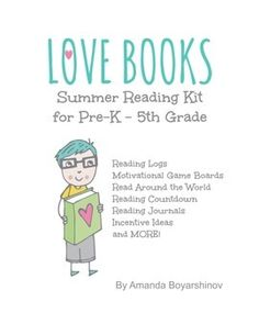 Summer Reading Kit - Designed to help keep students motivated to keep reading all summer long! Directions on how to use each chart is included in easy to read format. Great for parents! #reading #summerreading