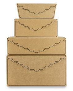 gift boxes from williams-sonoma.  Need to get me some of these..
