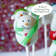 13 Snowmen Sweets Guaranteed to Melt Your Heart