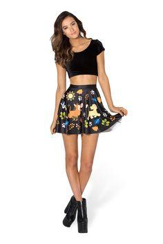 Hakuna Matata Skater Skirt by Black Milk Clothing $60AUD