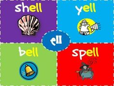 Teaches ack, ick, ock,  uck, all, ell, and ill word families
