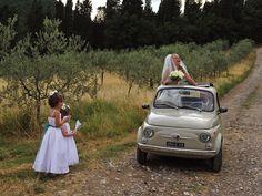 Wedding between the