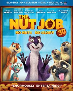The Nut Job Free Activity Sheets, Blu-ray Review & Giveaway | Five Dollar Shake
