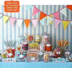 Candy Party Theme.