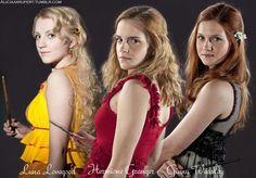 Ginny hermione luna dress on pinterest 22 pins - Luna lovegood and hermione granger ...