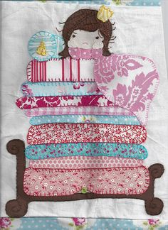 Fairytale quilt block